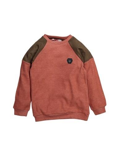 Zeyland Omuz Parçalı Sweatshirt (5-12yaş) Omuz Parçalı Sweatshirt (5-12yaş) Taba